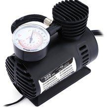 Car Inflatable Pump Portable Mini Air Pumps Compressor DC 12V 300 PSI Auto Electric Inflatable Pumping for Moto Bicycle Ball