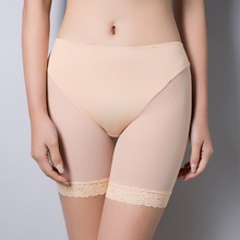 Soft and comfortable lace boxer shorts safety pant for women panties big size high waist ladies' underwear