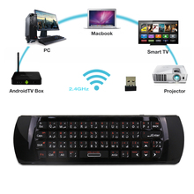Genuine Arabic Keyboard Rii mini i25 K25 Fly Air Mouse 2.4Ghz Wireless Keyboard Remote Controller FOR Android TV Box HTPC PC