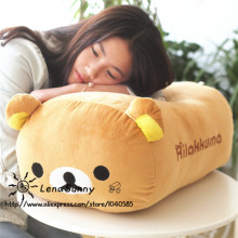 45cm Big Rilakkuma plush pillow,lover Rilakkuma bear Large pillow plush,Kids Rilakkuma bear Christmas Toy