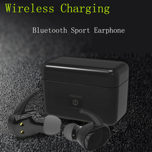 Buy Mini Bluetooth Headphone Wireless Earbuds Stereo In-ear Headset Wireless Charging Noise Cancelling Super Bass Earphone Sport for $38.99 in AliExpress store