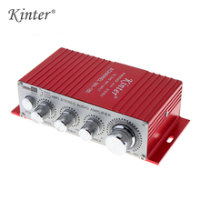 Kinter MA-180 DC12V 2CH 2*25W Mini Hi-Fi AMP Stereo USB Car Boat Audio Auto Power Amplifier Support DVD/MP3/ipod Input
