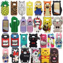 3D Cute Cartoon Mouse Cat Batman Judy Kitty Soft Silicone Back Cover Skin Samsung Galaxy S8 S8 Plus Phone Cases Funda Coque
