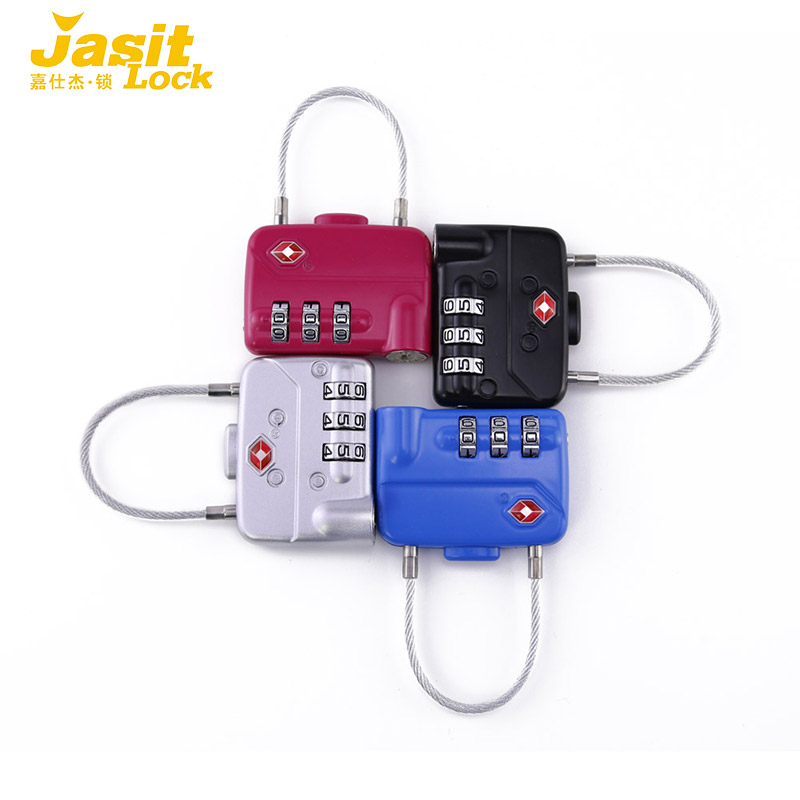 LMA 3-Dial TSA Combination Lock with Cute Design  (4 PCS)<br><br>Aliexpress