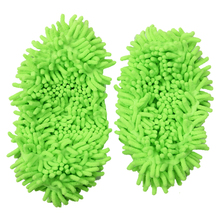 HOT GCZW-Dust Mop Slippers Shoes Floor Cleaner Clean Easy Bathroom Office Kitchen(China)