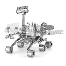 Mars Probe Kids Toys Metal 3D Jigsaw Puzzles Jouet Enfant DIY Assembly Model Brinquedos Educational Toys For Boys/Children