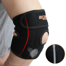 1PC Adjustable Breathable Elbow Support Brace Wrap Anti-pilling Elbow Protector Sports Safety Guard Strap for Basketball Tennis