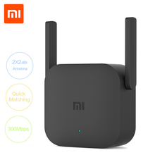 Original Xiaomi Pro 300M WiFi Router Amplifier Network Expander Repeater Power Extender Roteador 2 Antenna for Mi Router Wi-Fi(China)