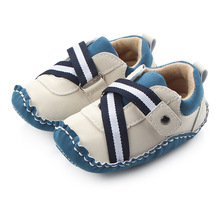 Casual Baby Shoes Crib Bebe Infant Toddler Soft Rubber Soled Sneakers Baby Boys Outdoor Footwear Crib kids Child Prewalkers(China)