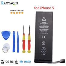 Replacement Mobile Batteries for iPhone series for iPhone 5 100% original brand Real Capacity 1440mAh high Quality battery