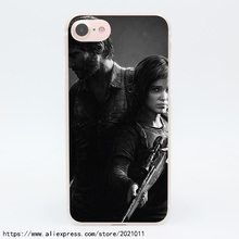1863X The Last of Us Game Video Hard Transparent Case for iPhone 7 7 Plus 6 6S Plus 5 5S SE 5C 4 4S