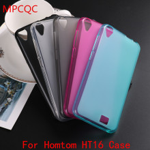 Buy MPCQC Ultrathin Doogee Homtom HT16 Case black matte TPU Soft Scrub Cover Doogee Homtom HT16 Black Phone Back Case bag for $1.33 in AliExpress store