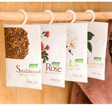 2 Pcs/Lot.Hot sale.Floral Taste Hanging Scented Sachets.Home Wardrobe Drawer Car Scent Sachet.Fresh Air Aroma Spice.Pest control(China)