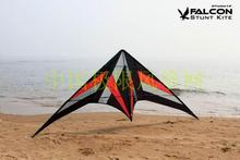 Falcon stunt ballet kite flying kitesurf sport kites surf pipa waterproof nylon fabric beach triangle traction kite skeleton