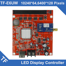 TF-E6UW E5UW Longgreat TF WIFI USB port LED Display Control Card Single Dual Color(China)