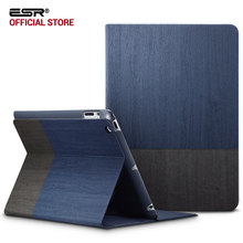 Case for iPad 2 3 4, ESR PU Leather Smart Cover Folio Case Stand with Auto Sleep/ Wake Function ecology Cover for iPad 2 3 4(China)