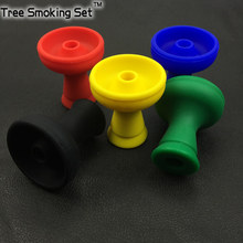 shisha hookah silicone bowl with one hole fakher molasses More smoke ventilation holes juice not fall into water prevent burning(China)