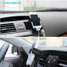 MOUSEMI Automobile Holder For Phone In Car Phone Holder Support Mobile Car Stand Mount For iPhone 6 5s 6s Phone Cell accessories(China)