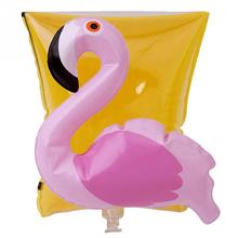 One Pair Flamingo Crab Swimming Arm Band Ring Floating Inflatable auxiliary ring For Child