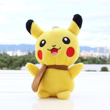 13cm Pikachu Plush Toys Children Gift Cute Soft Toy Cartoon Pocket Monster Anime Kawaii Baby Kids Toy Pikachu Stuffed Plush Doll