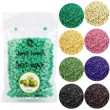 2017 Chamomile Flavor No Strip Depilatory Hot Film Hard Wax Pellet Waxing Beach Bikini Hair Removal Beans Paraffin Hot Wax