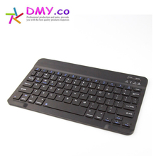 Ultra Slim Multimedia Aluminum the tablet support English Russian Wireless Bluetooth gaming Keyboard K4 gamer For Tablet PC Mini