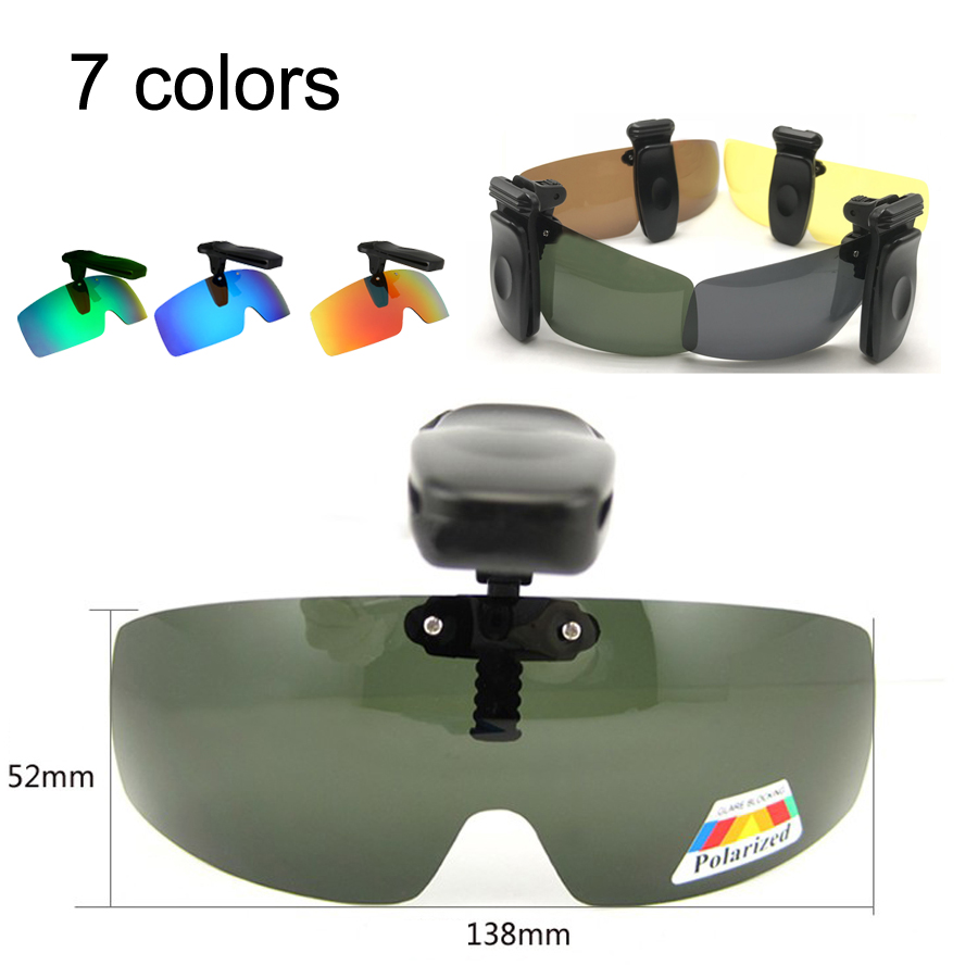clip on polarized glasses
