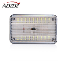 Car 36 SMD LED Light Ceiling Interior Rectangular White Ceiling Lamp for 12V Car Roof LED Light Ceiling Lamp(China)