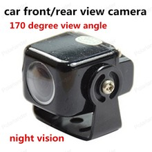 best selling plug-in compact night vision car front/rear view camera 170 degree view angle HD camera waterproof