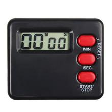 Saingace Kitchen Clock Timer Cooking 99 Minute Digital LCD Sport Countdown Calculator black/white Drop Shipping Happy Sale ap620(China)
