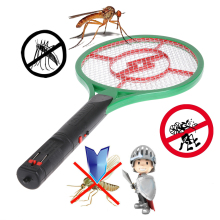 Mosquito elétrico Swatter Assassino Do Inseto Pest Fly Mosquito Zapper Swatter Assassino Racket Assassino Anti Mosquito Verde(China)