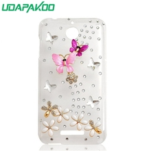 Fashion 3D Bling Crystal Rhinestone Diamond Case for HTC Desire 320 320G/One Max T6/700/601/One M8/M8 Mini Mini 2/ONE E8/610(China)