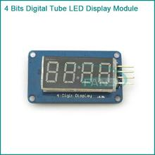 Free Shipping! 4 Bits Digital Tube LED Display Module With Clock Display TM1637 for Arduino Raspberry PI