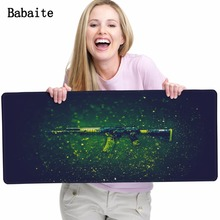 Babaite mouse pad cs go locked edge pad to mouse notbook computer mousepad gaming padmouse gamer best seller keyboard mouse mats