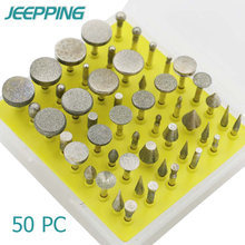 Hot! 8 50pc Dremel Accessories Abrasives diamond grinding head grinding emery carving glass rod DIY grinding Rotate the tool set