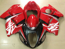 Red White black Injection mold Fairing kit for SUZUKI hayabusa GSXR1300 96 99 07 GSXR1300 1996 2007 Fairings set+7gifts SB04