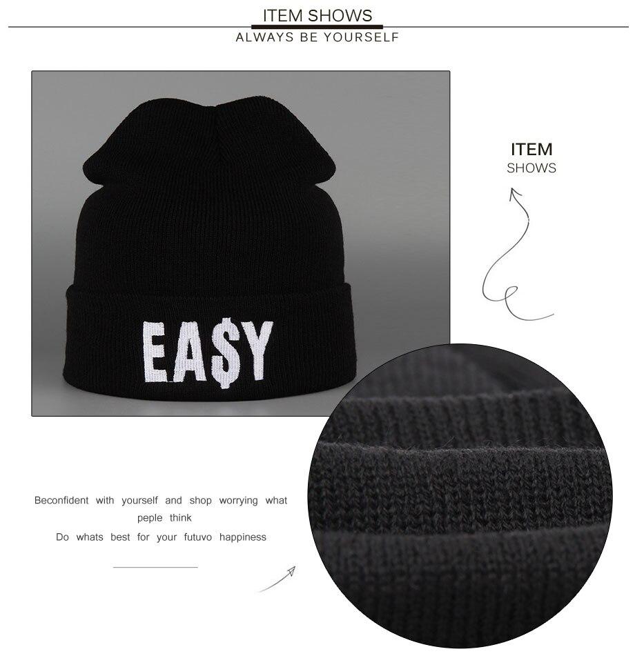ADK Embroidery Men Women Black Cap Winter Warm 2018 New High Quality Brand Fashion Casual Hats Unisex #CAP188 (5)