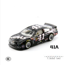 Nascar Competition red blue 1:64 Alloy car model formula 1 oyuncak boys Christmas gift(China)