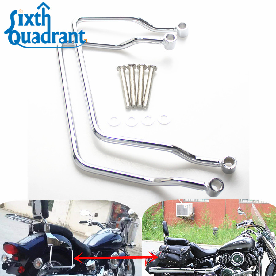 Easy Brackets for Yamaha V-Star 650 Classic w backrest Other Motorcycle Luggage