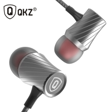 QKZ X9 Earphone Super Bass Go Pro Clear Voice Metal-Ear Earphones Mobile Computer MP3 Universal 3.5MM Headset fone de ouvido(China)