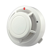 New Arrival High sensitivity Wireless Photoelectricity Smoke Detector For Home/Store/Hotel/Factory,HKPAM