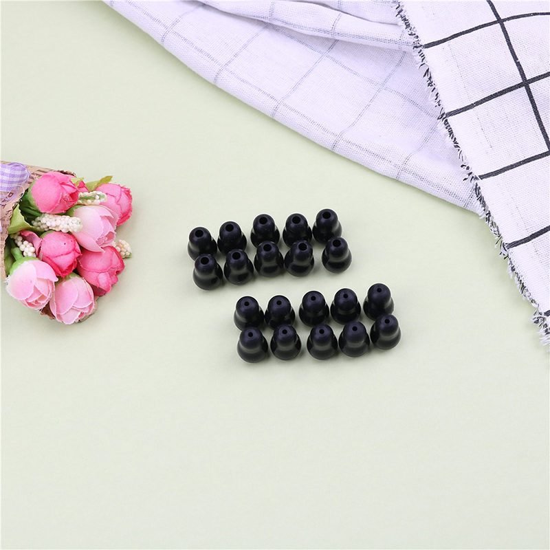 10Pcs/lot 2.5mm/3.5mm Super Comfortable and Soft Stethoscope Earplug Eartips Earpieces for Stethoscope Ear Care