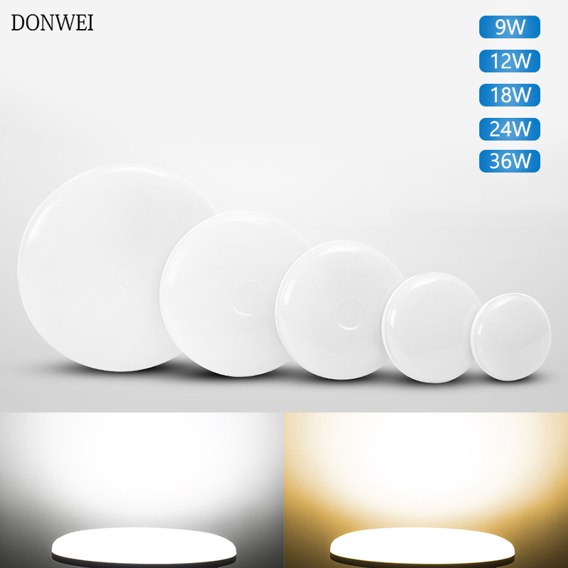 Ultra Thin LED Ceiling Lights Lighting Fixture Modern Lamp Living Room Bedroom Kitchen Surface Mount Ceiling Light For Bathroom(China)