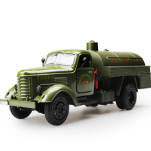 High Simulation Collection Model Toys Car Styling Oil Miliary Tanker Model 1:32 Alloy Truck Model Excellent Gifts