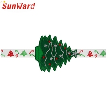 SunWard New Fashion Christmas Trees Headband Headwear Hair Accessories For Little Girls 160817 Drop Shipping