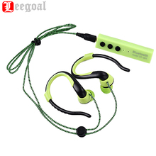 ST-001 Sport Wireless Bluetooth Stereo Headset Metal Shoelace Earphone Handsfree Mic 3.5mm Earbuds For Phone MP3 Player