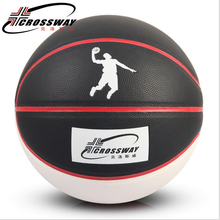 CROSSWAY Colorful outdoor match basketball sweat absorption Wearable Soft leather Non-slip Fancy Streetball free shipping 803
