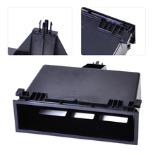 New Black Dashboard Center Storage Tray Cubby Box Fit for VW Jetta Golf Bora Passat Lupo Sharan Transporter 3B0857058 1J0857058A