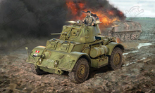 Italy 1/35 Assemble British Foxhound MK.I Wheeled Armoured Vehicle Late Model Block kits 6552(China)