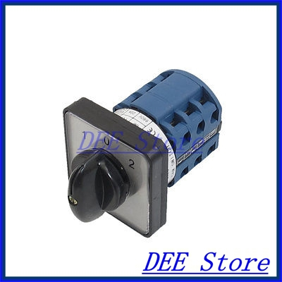 AC 660V 20A 12 Terminals 3 Positions Rotary Selector Cam Changeover Switch<br><br>Aliexpress